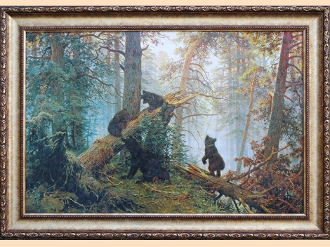 ''Morning in a Pine Forest'' - Ivan Shishkin