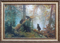 '' Morning in a Pine Forest '' - Ivan Shishkin, 104cm / 73cm